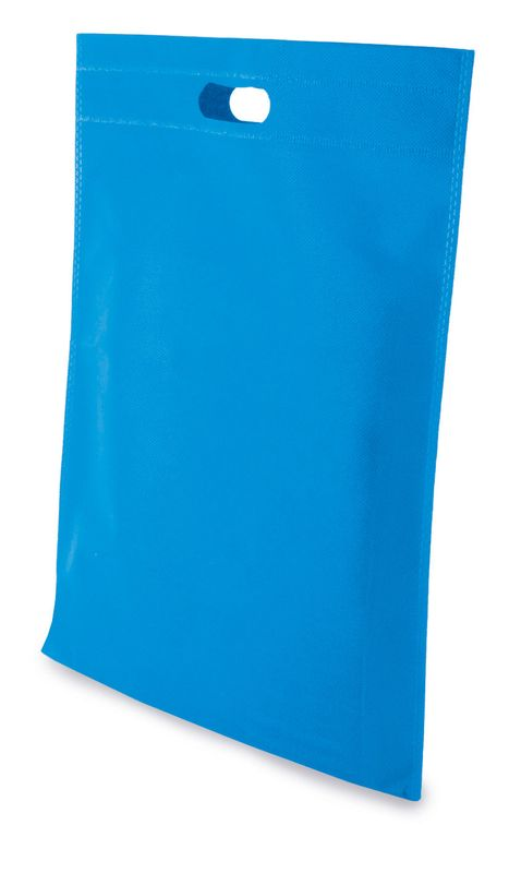 LUCY netkaná taška modrá