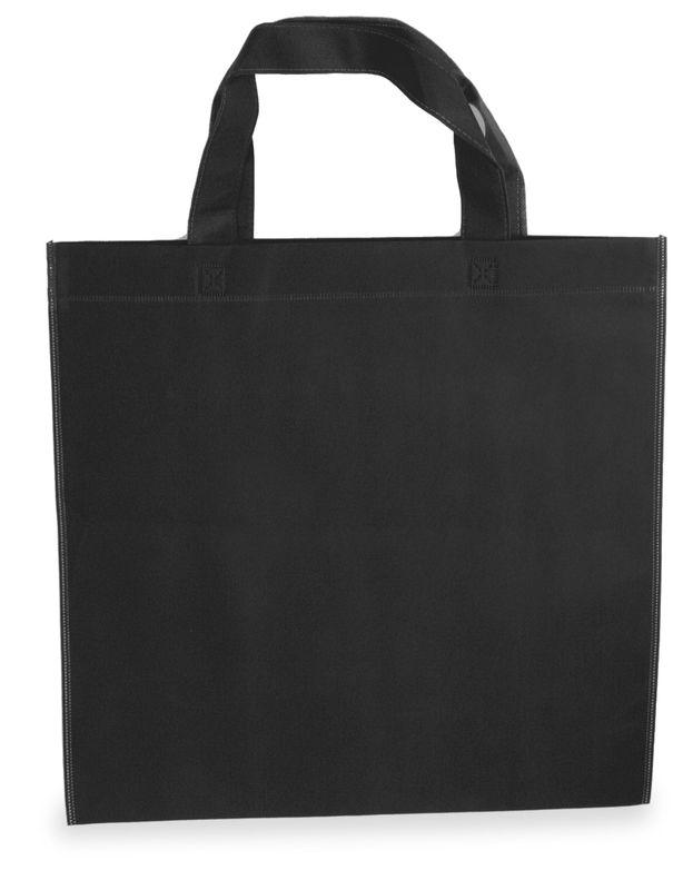 LAURA netkaná taška černá