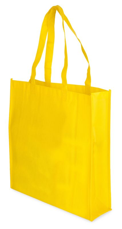 Matná laminovaná taška žlutá