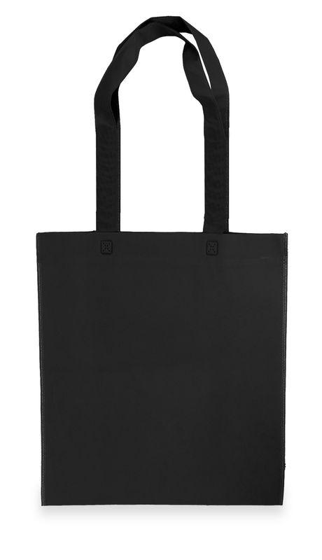 Netkaná taška ekonomická černá