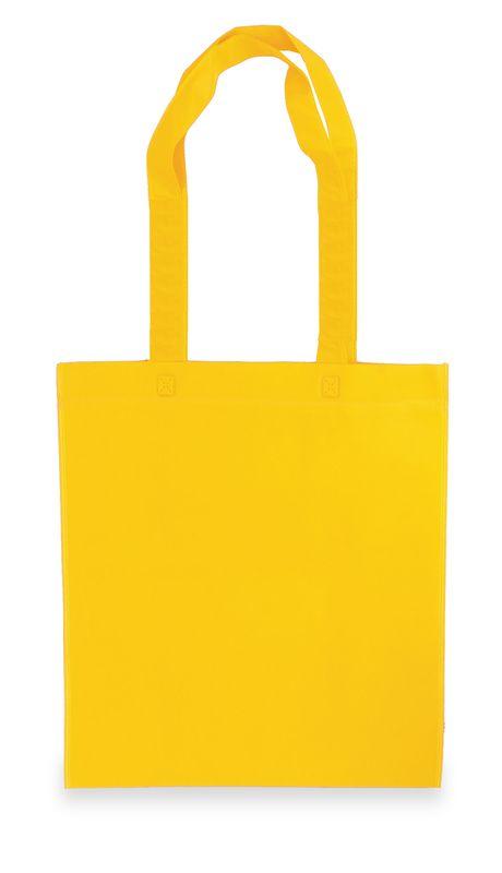Netkaná taška ekonomická žlutá