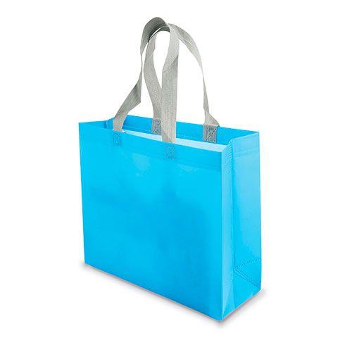 Malá netkaná taška Yucatan modrá