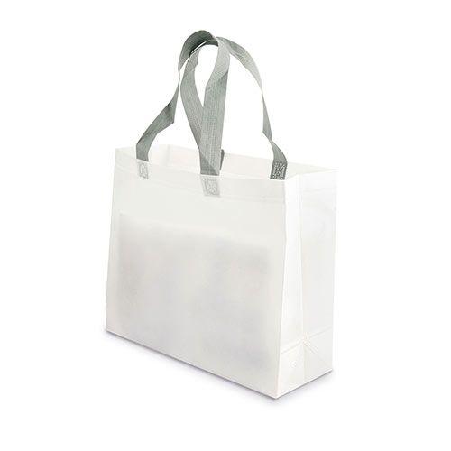 Malá netkaná taška Yucatan bílá