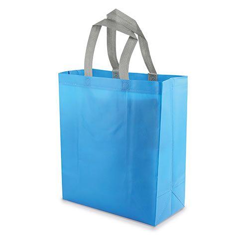 Velká netkaná taška Yucatan modrá