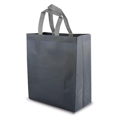 Velká netkaná taška Yucatan šedá