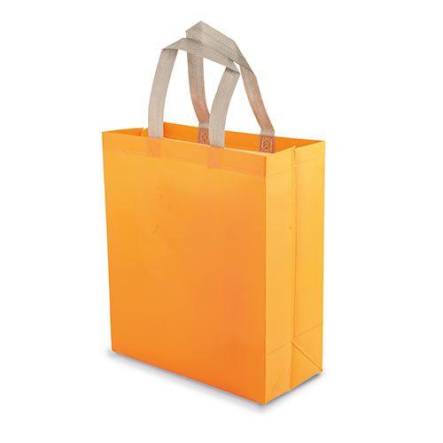 Velká netkaná taška Yucatan oranžová