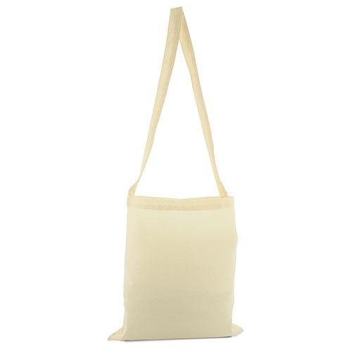 Bavlněná taška přes rameno béžová