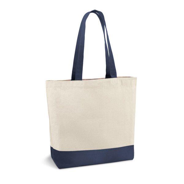 Bavlněná taška modrá