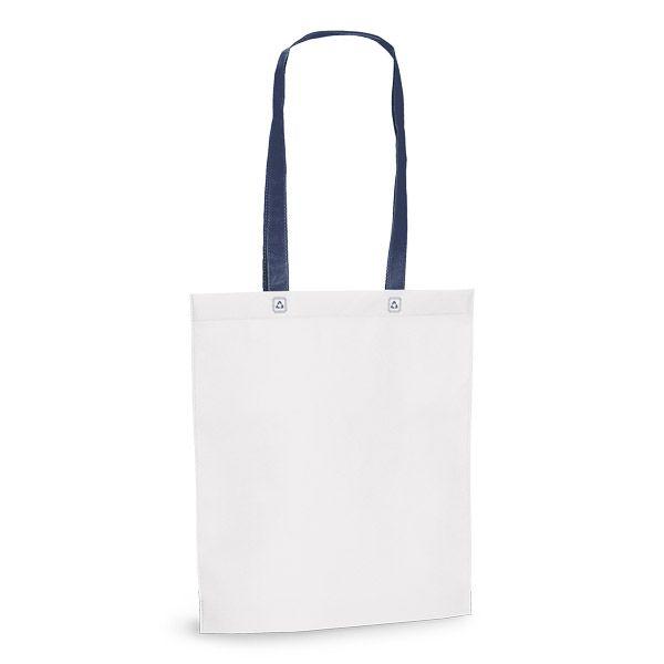 Netkaná taška přes rameno modrá