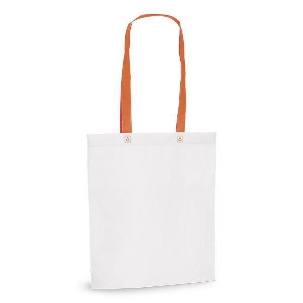 Netkaná taška přes rameno oranžová