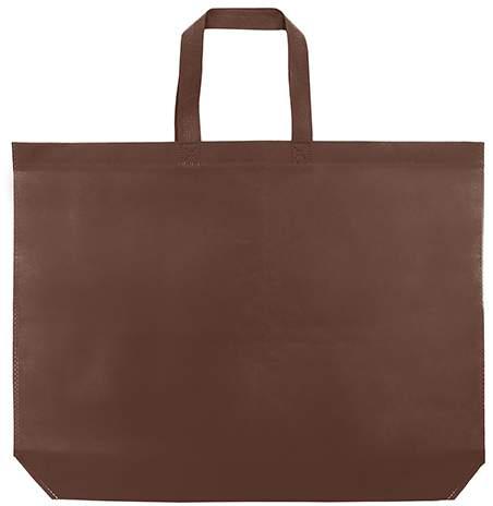 Velká netkaná taška, hnědá
