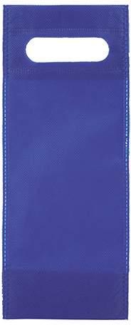 Úzká netkaná taška, modrá