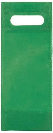 Úzká netkaná taška, zelená