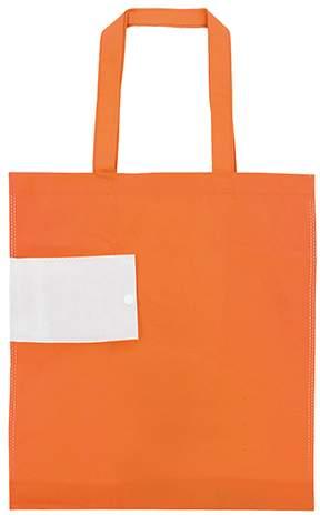 Netkaná skládací taška, oranžová