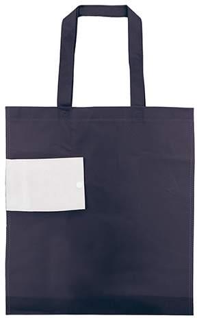Netkaná skládací taška, námořnická modrá