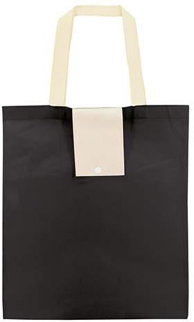 Netkaná skládací taška, černá