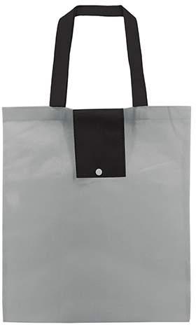 Netkaná skládací taška, šedá