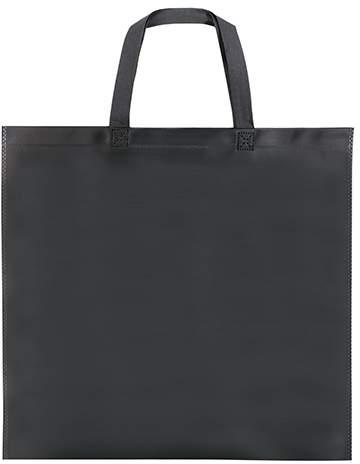 Laminovaná netkaná taška, černá