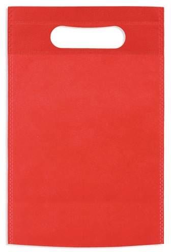 Netkaná taška, červená
