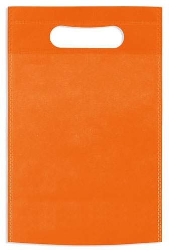 Netkaná taška, oranžová