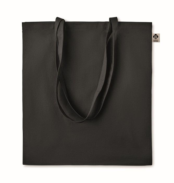 Nákupní barevná taška z BIO bavlny