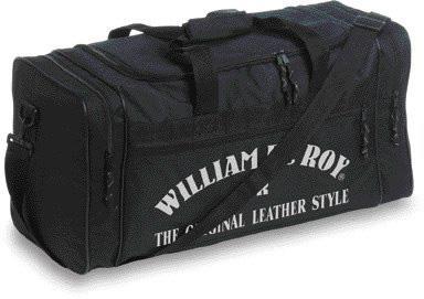 Sportovní černá polyesterová taška