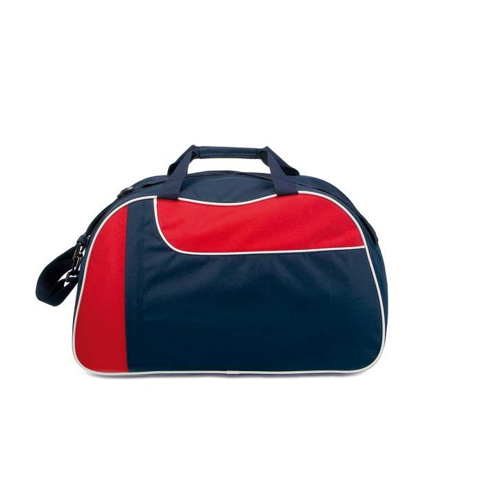 Cardio červená sportovní taška s potiskem