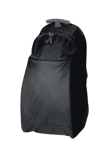 Černá taška na kolečkách