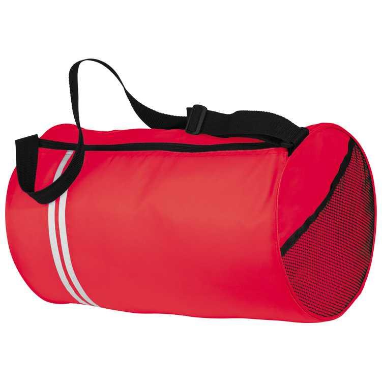 Červená velmi lehká sportovní taška