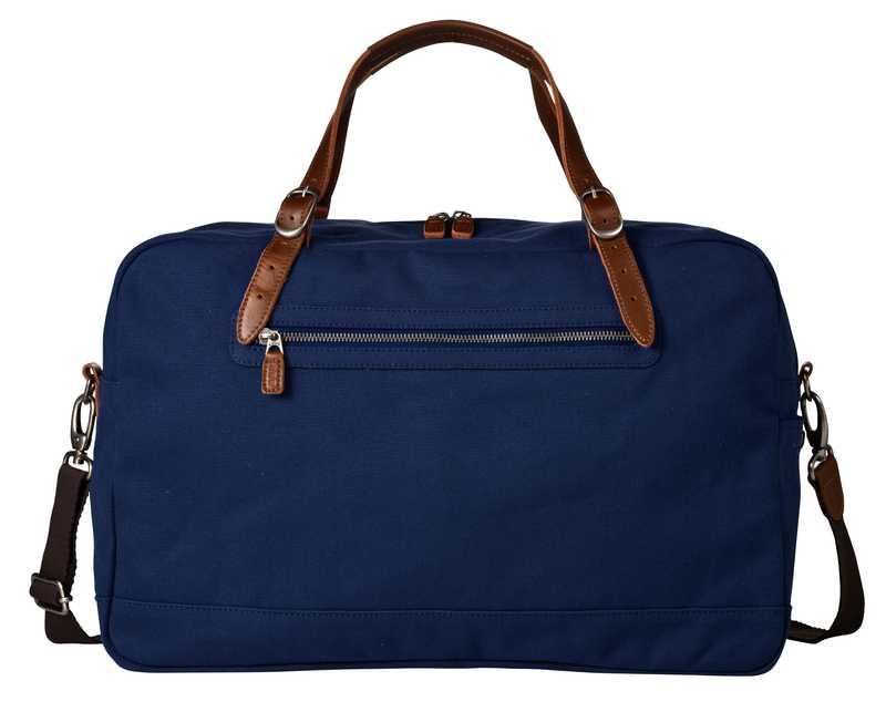 Světle modrá taška na 1 noc