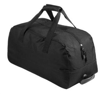 Bertox černá sportovní taška na kolečkách