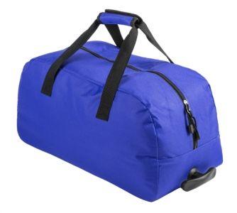 Bertox modrá sportovní taška na kolečkách