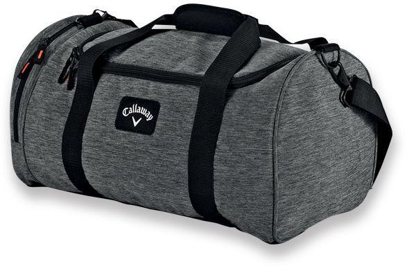 CALLAWAY SMALL DUFFLE cestovní taška, CALLAWAY, šedá