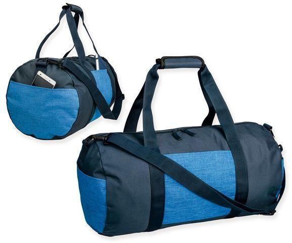 NILS polyesterová cestovní taška, 600D, tmavě modrá