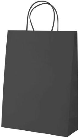 Store černá papírová taška