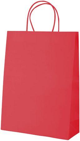 Store červená papírová taška