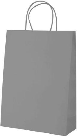 Store šedá papírová taška