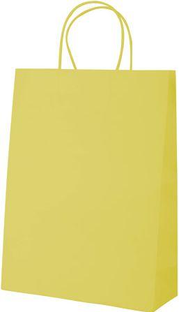 Store žlutá papírová taška
