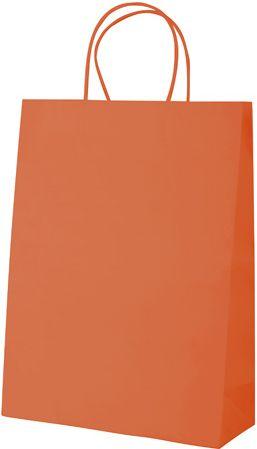 Store oranžová papírová taška