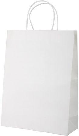 Store transparentní bílá papírová taška