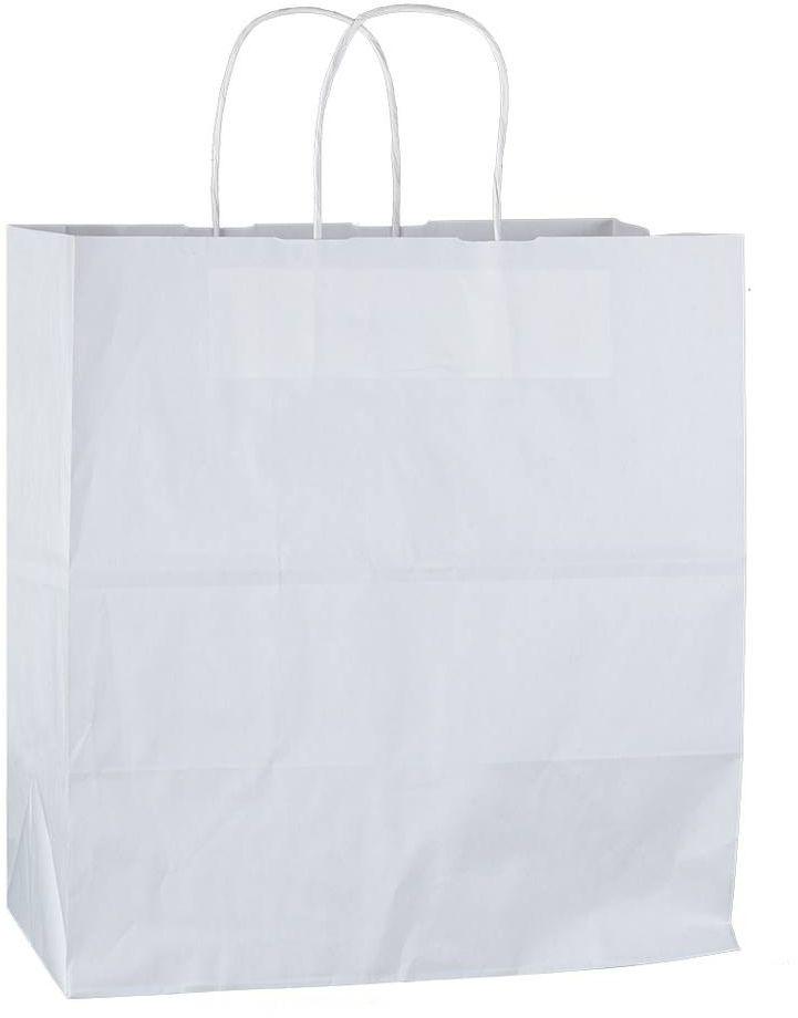 Bílá papírová taška 32x19x34 cm