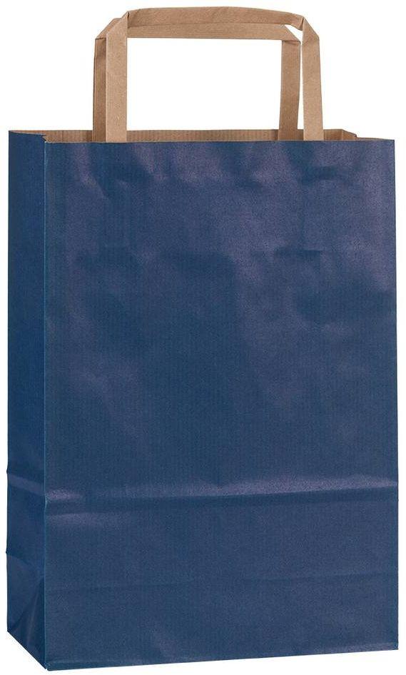 Rainbow modrá taška 18x8x25 cm