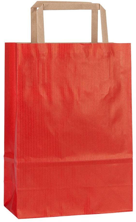Rainbow červená taška 18x8x25 cm
