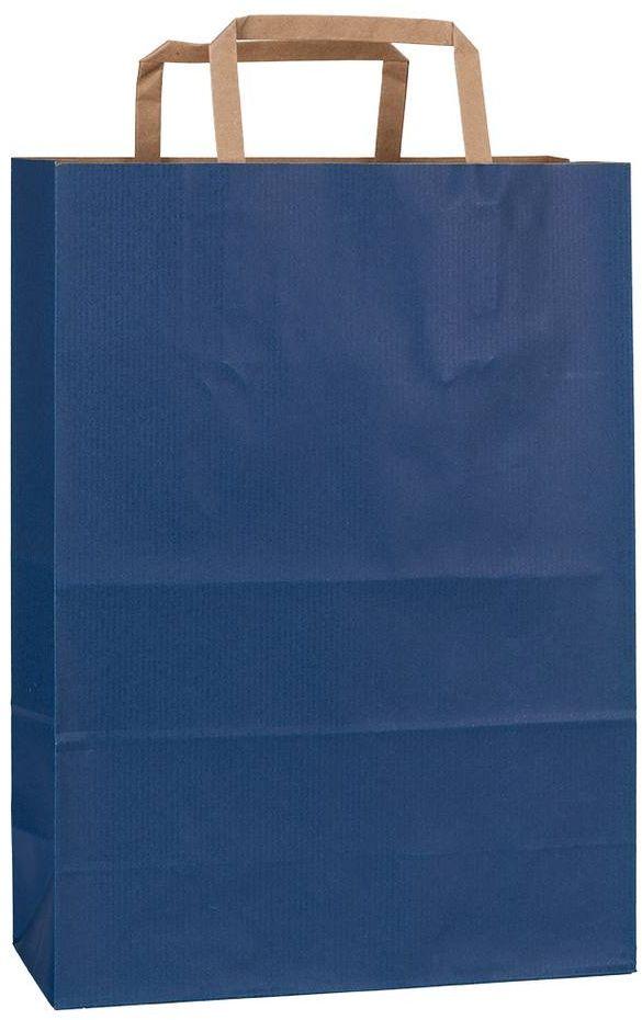 Rainbow modrá taška 23x10x32 cm