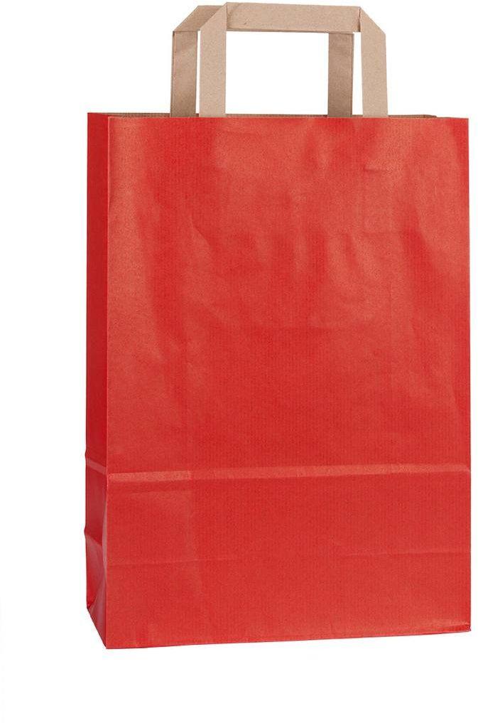 Rainbow červená taška 23x10x32 cm