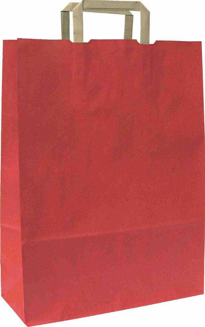 Rainbow červená taška 44x14x50 cm