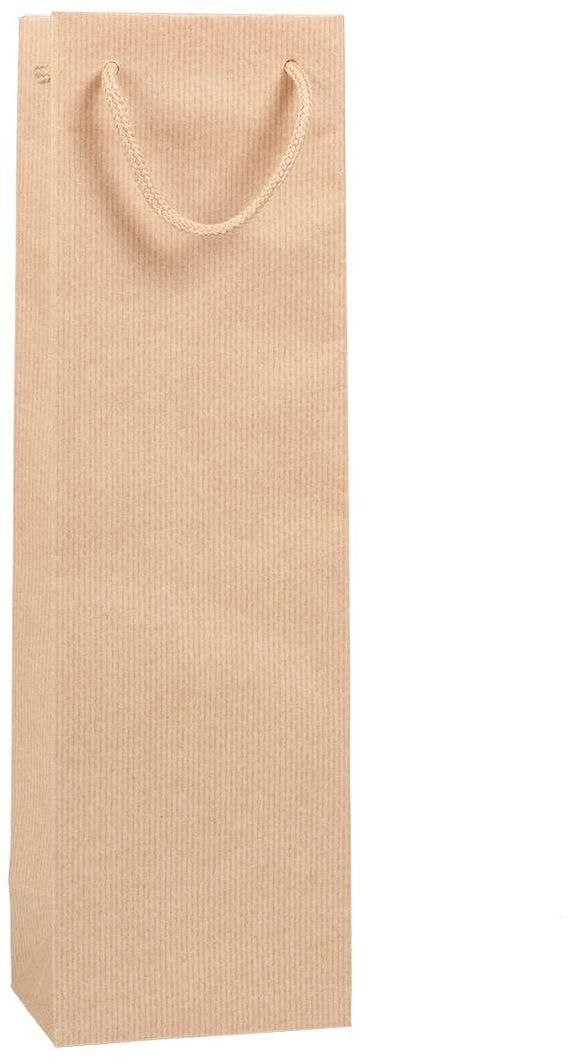 Přírodní taška na víno 12x9x40 cm