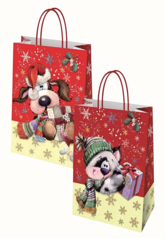Vánoční taška 21x8x26