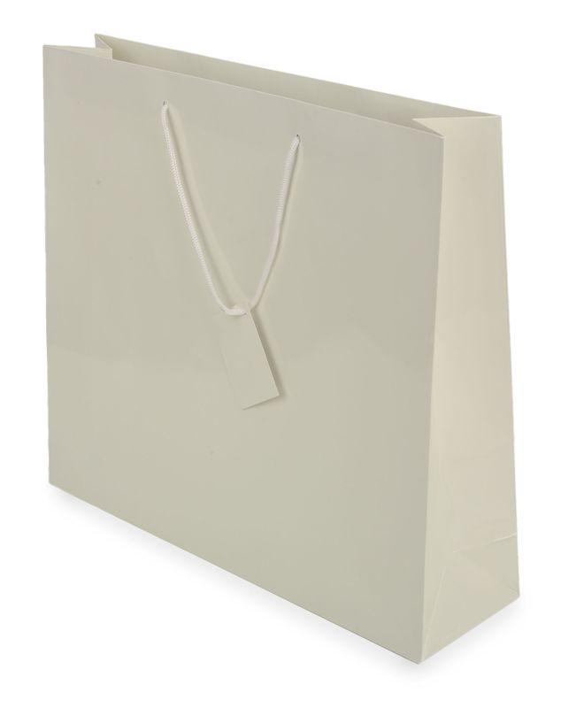 Dárková taška bílá 40x36x11 cm