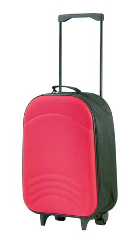 Avant červený kufřík na kolečkách